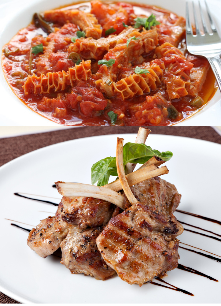 secondi della cucina romana meat dishes from the roman